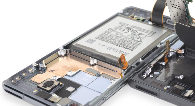 Samsung S22 soğutma sistemi