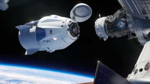 SpaceX'in Crew Dragon aracı tuvalet manzarasıyla gündemde