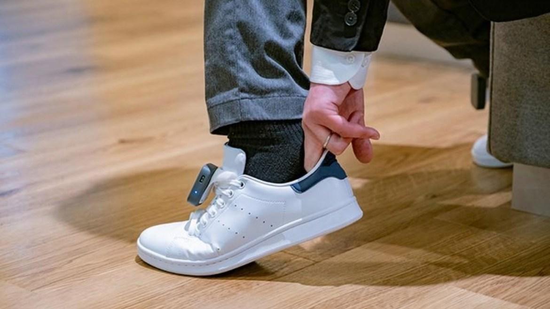 Görme engelliler için ayakkabı