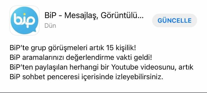 Turkcell BiP, YouTube videolarını sohbet penceresinde oynatabilecek.