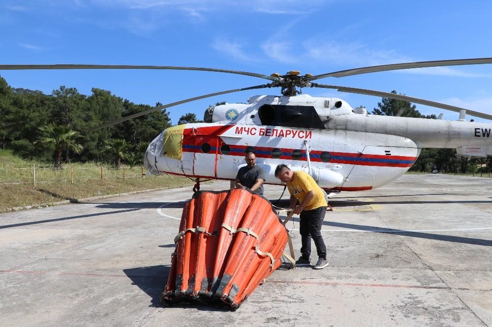 Orman yangını söndürme helikopteri