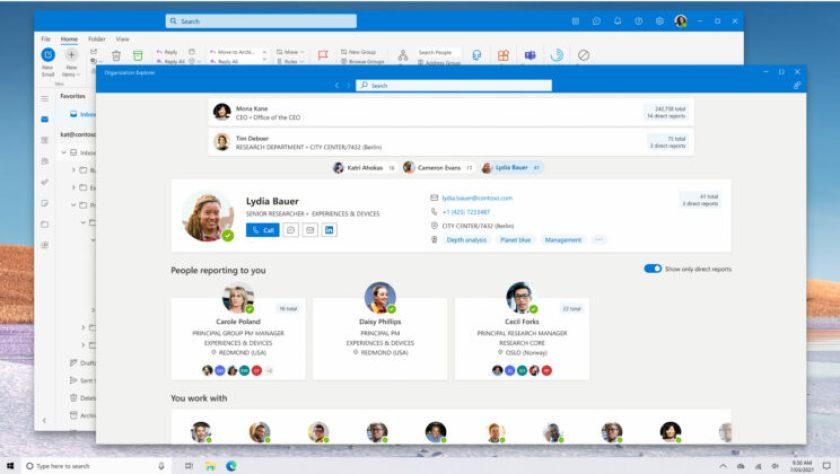 Outlook'un tasarımı değişiyor İşte yeni görünümü