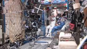 Astronotlardan esprili etkinlik: Uzay Olimpiyatları