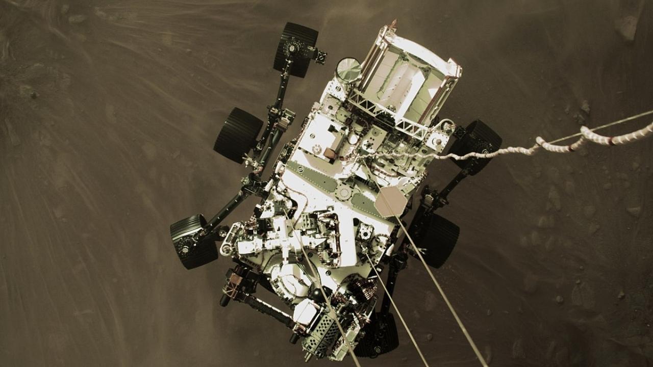 NASA Mars gezgini Perseverance kaya örneği topladı