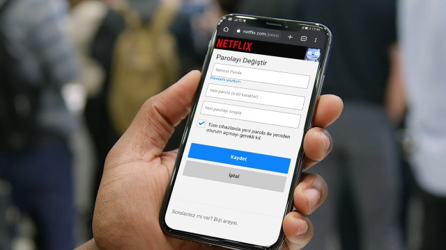 Netflix şifresi nasıl değiştirilir? (iOS, Android, Web)