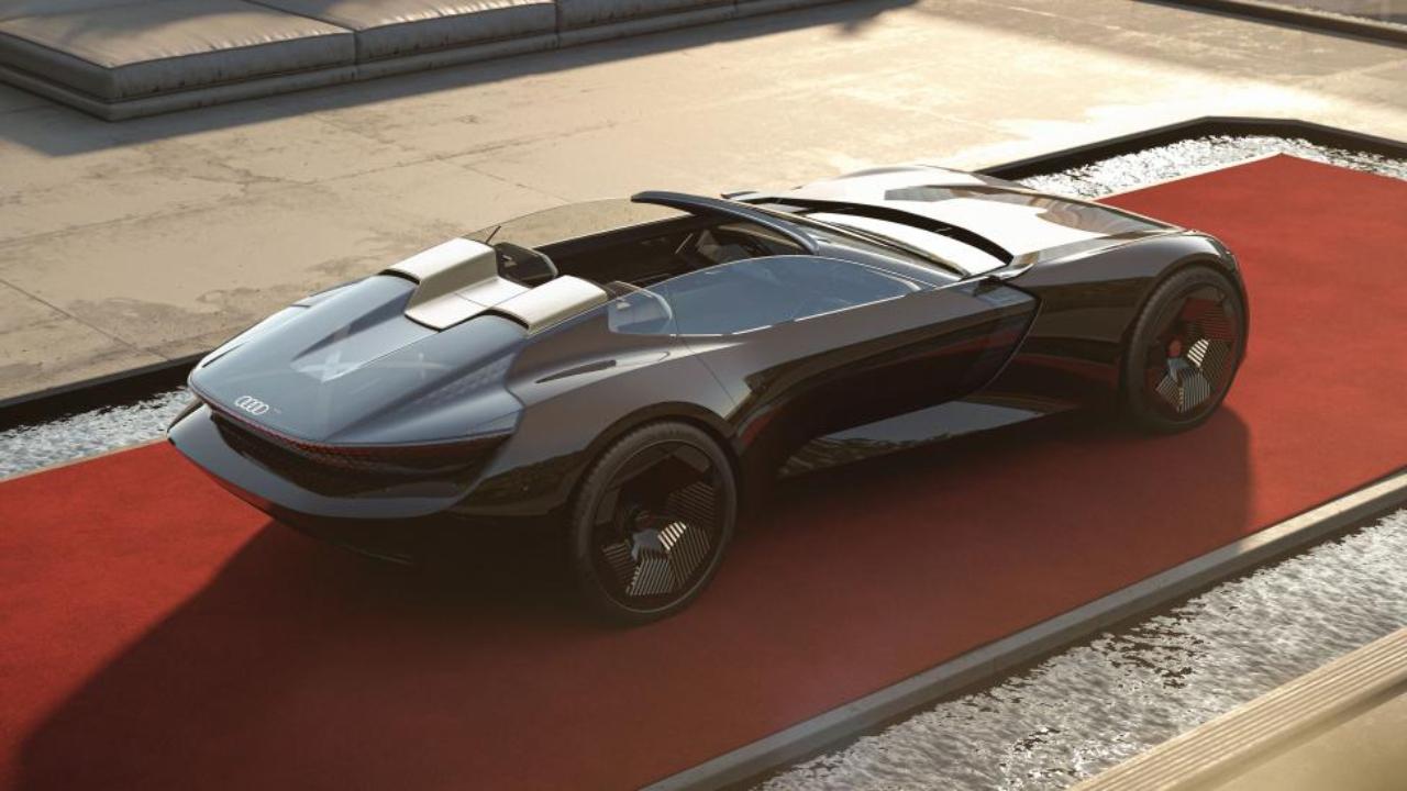 Audi Skysphere uzayabilen otomobil