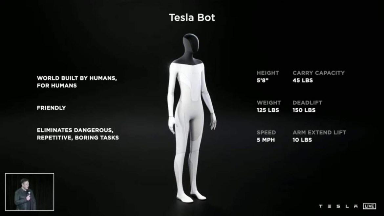 İnsansı Tesla robotu