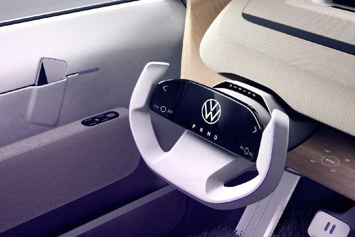 Volkswagen unveils concept portable electric car 5
