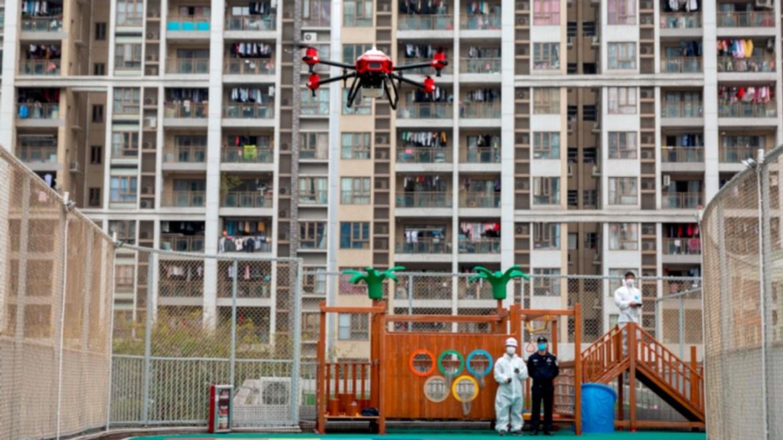 Pandemi yardımcısı dronelar