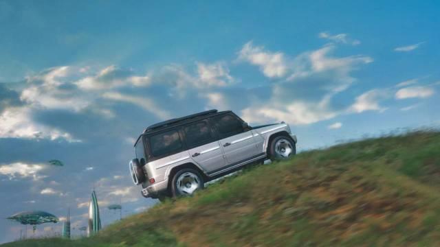 G serisinin elektrikli üyesi: Mercedes-Benz EQG konsepti