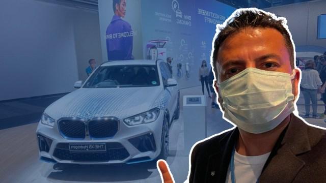 Hidrojen ile çalışan SUV yapmışlar! BMW iX5 Hydrogen