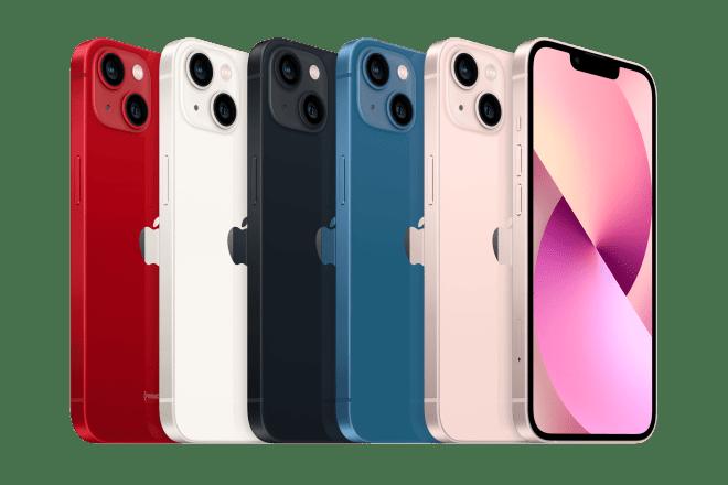 iPhone 13 Mini renk seçenekleri