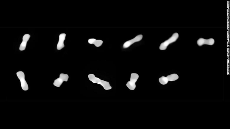 Köpek kemiği asteroidi hakkında yeni bilgiler