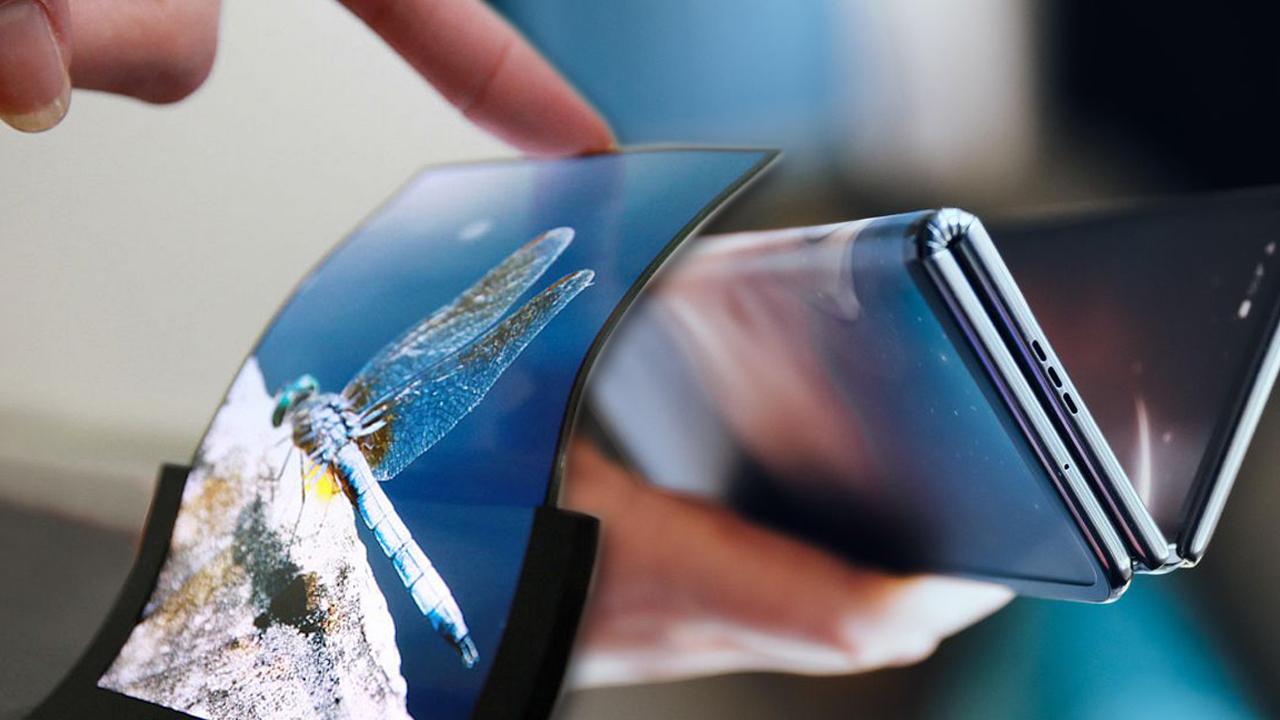 katlanabilir ekran, katlanabilir ekran teknolojisi, lg katlanabilir ekran, dayanıklı katlanabilir ekran