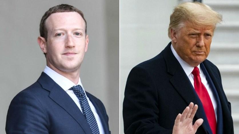 facebook ceo mark zuckerberg trump