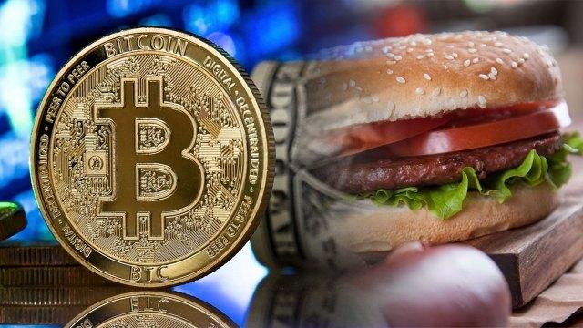 Popüler fast food zinciri, Bitcoin'i ödeme yöntemi yaptı!