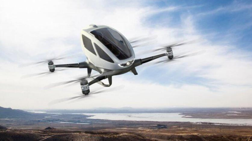 NASA has started test drives for the flying taxi! 2