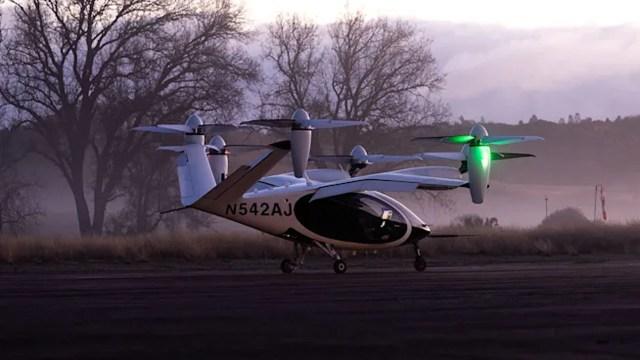 NASA, uçan taksi için test sürüşlerine başladı!