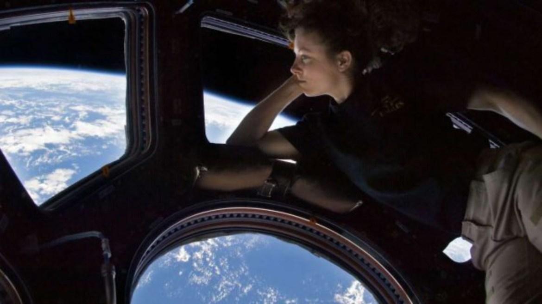 Uzay istasyonundan bir görüntü
