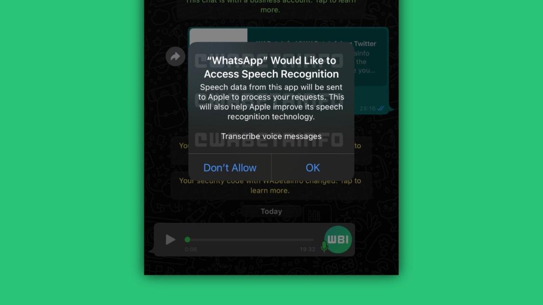 whatsapp voice recording