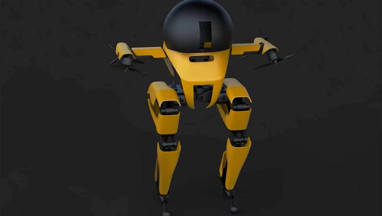 Caltech uçabilen insansı robot geliştirdi