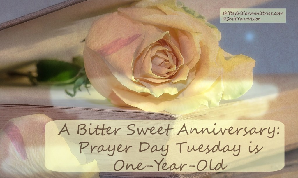 Tuesday Prayer Day: One Year Old