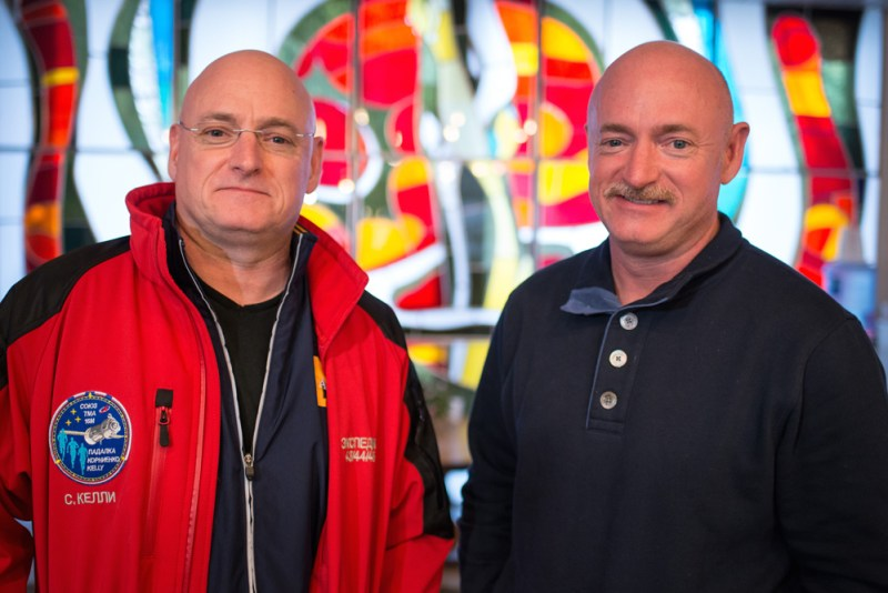 Expedition 43 Kelly Brothers