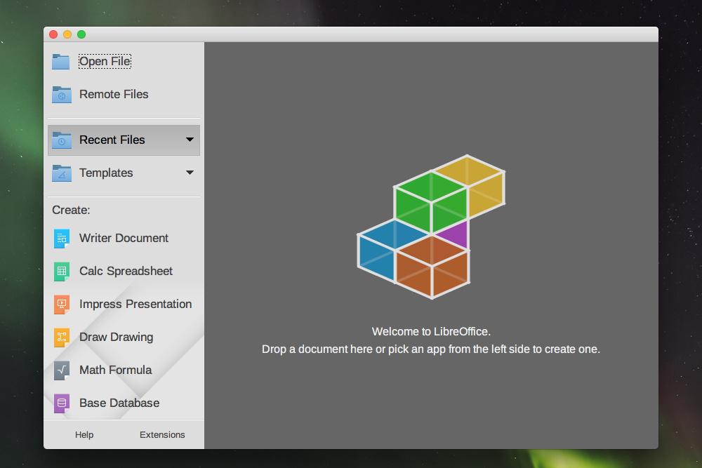 LibreOffice alternativa microsoft
