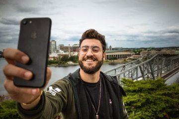 Snapchat influencer Guy Hobeika