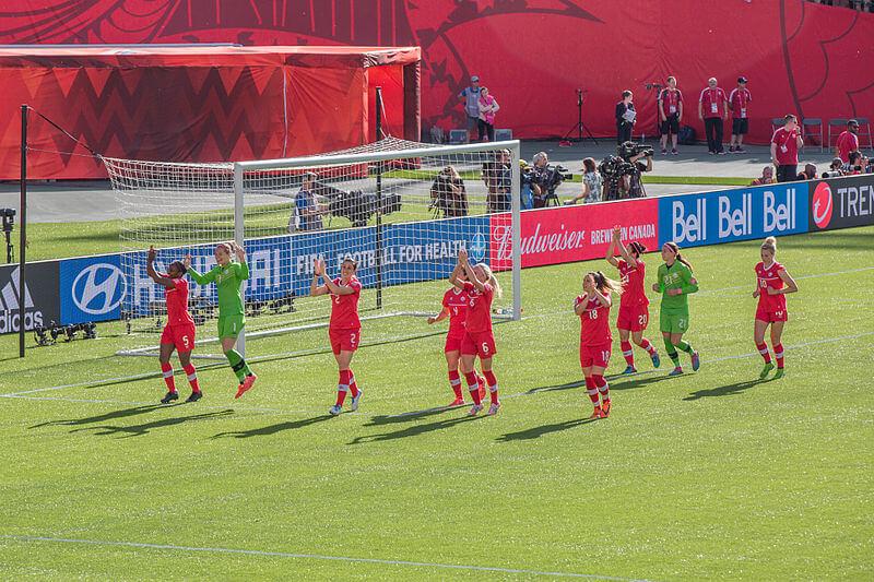 anadian Women's Soccer team