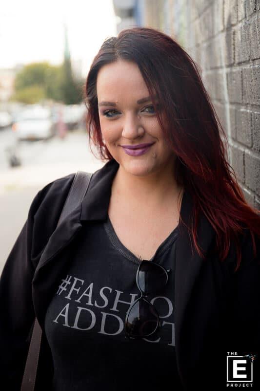 Courtney Johnson freelance hairstylist