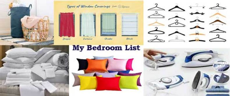 How to move out, Things to buy when moving out, Moving shopping list