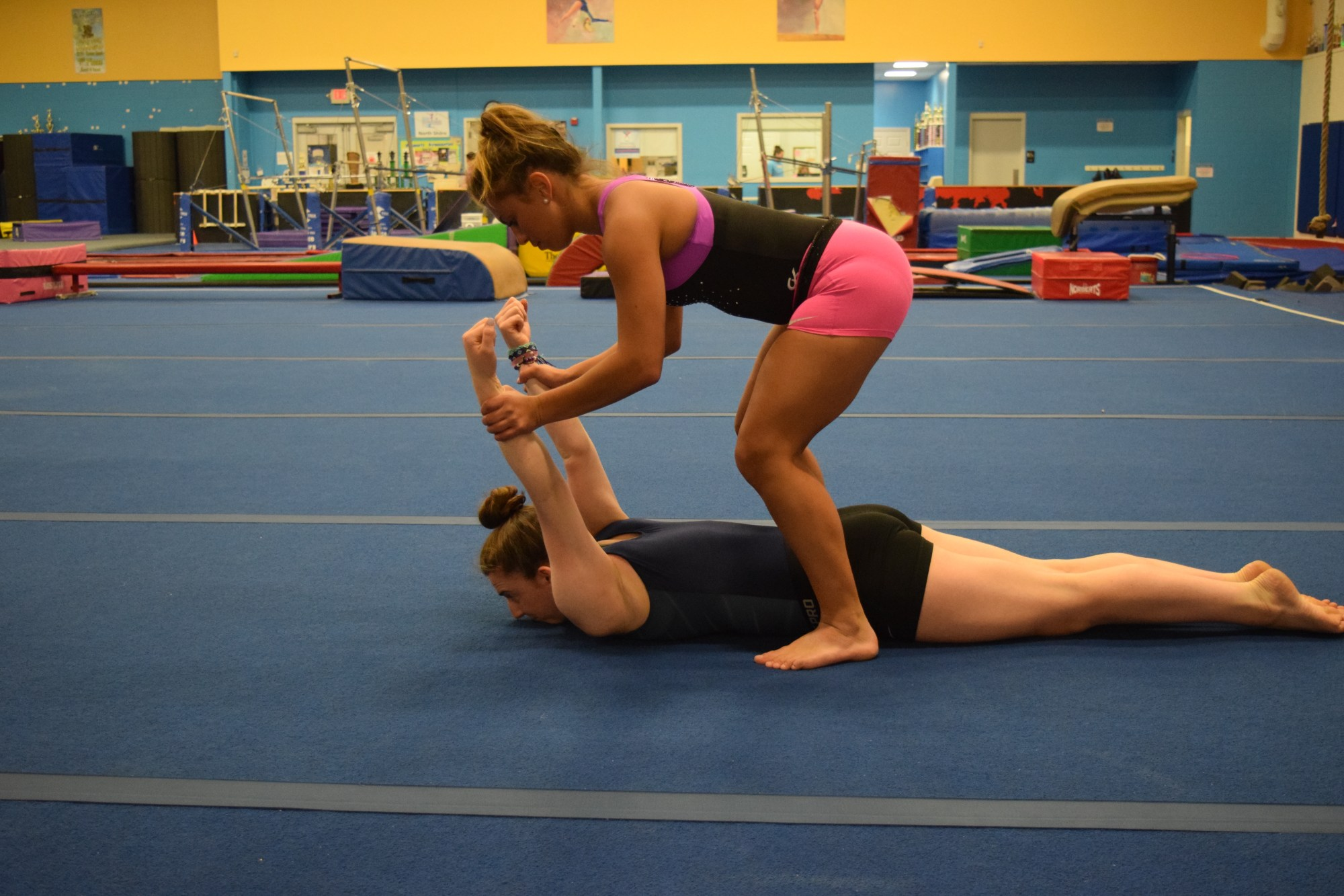 hight resolution of are dips and skin the cat type stretches dangerous for female gymnasts