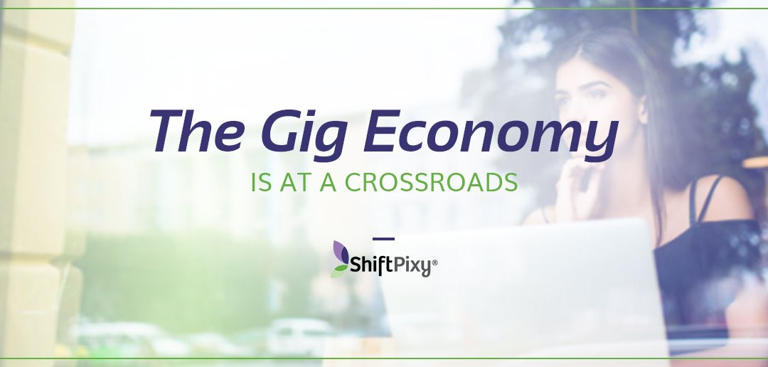 The Gig Economy is At a Crossroads