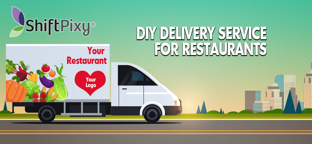 a delivery service app for restaurants