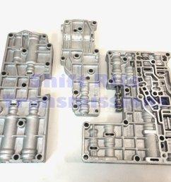 hd hp 4r100 96 04 valve body accumulator kit transmission valvebody [ 1600 x 1200 Pixel ]