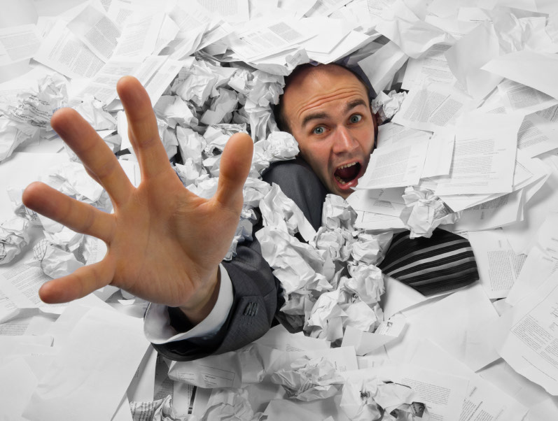 Stop drowning in paperwork