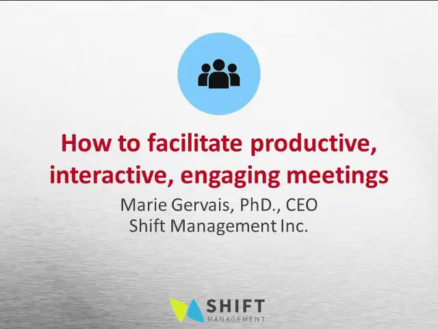 Effective Meetings that bring out the talents of your team: Overview and Strategies  #1