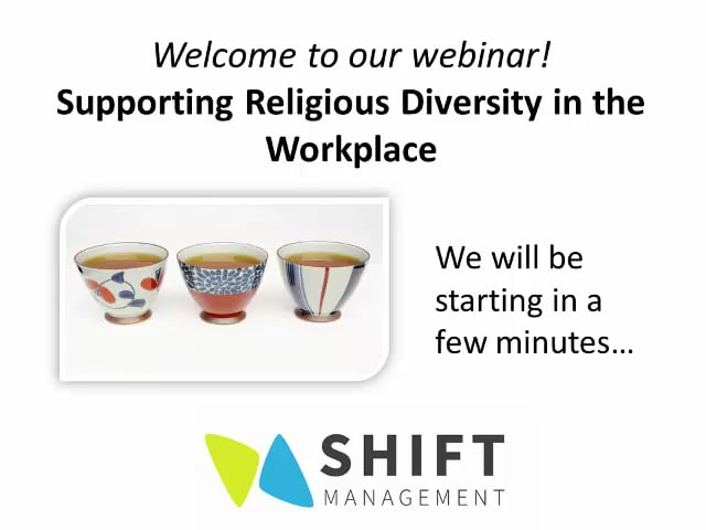 Supporting Religious Diversity in the Workplace