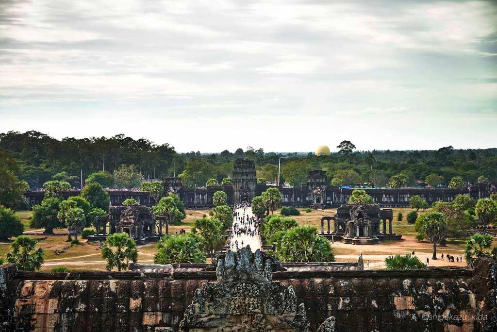 Angkor(アンコール)遺跡群にあるAngkorWat(アンコール・ワット)