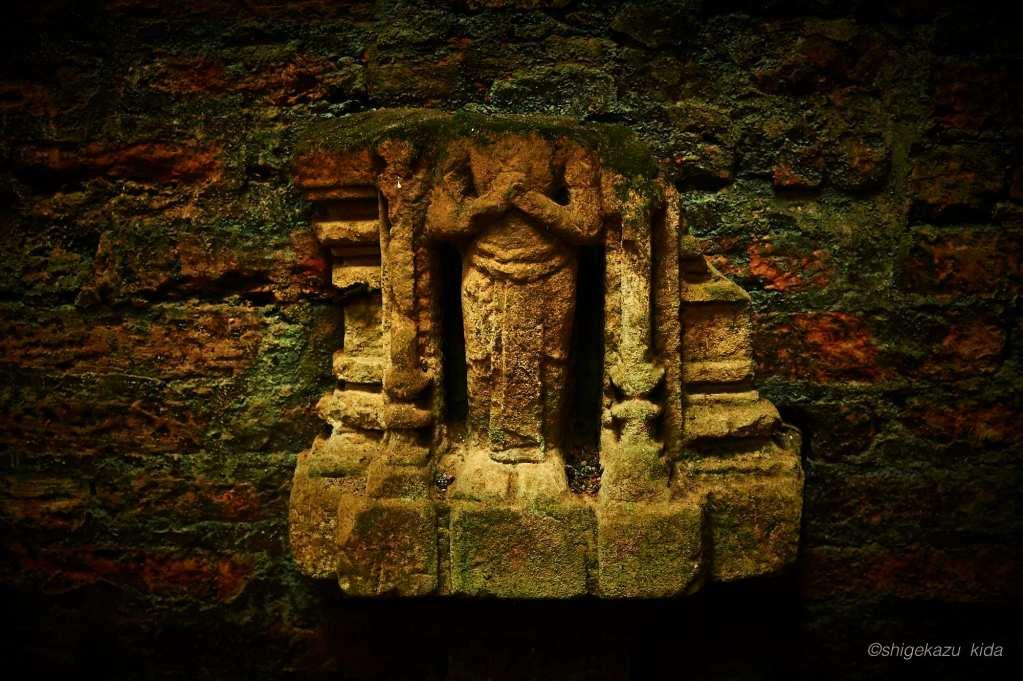 ベトナムMySonSanctuary(ミーソン遺跡)の首がとれた出土品