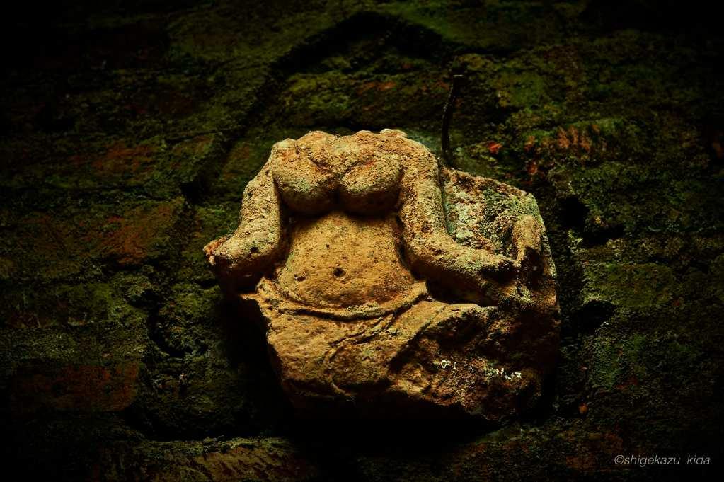 ベトナムMySonSanctuary(ミーソン遺跡)の首が取れた出土品
