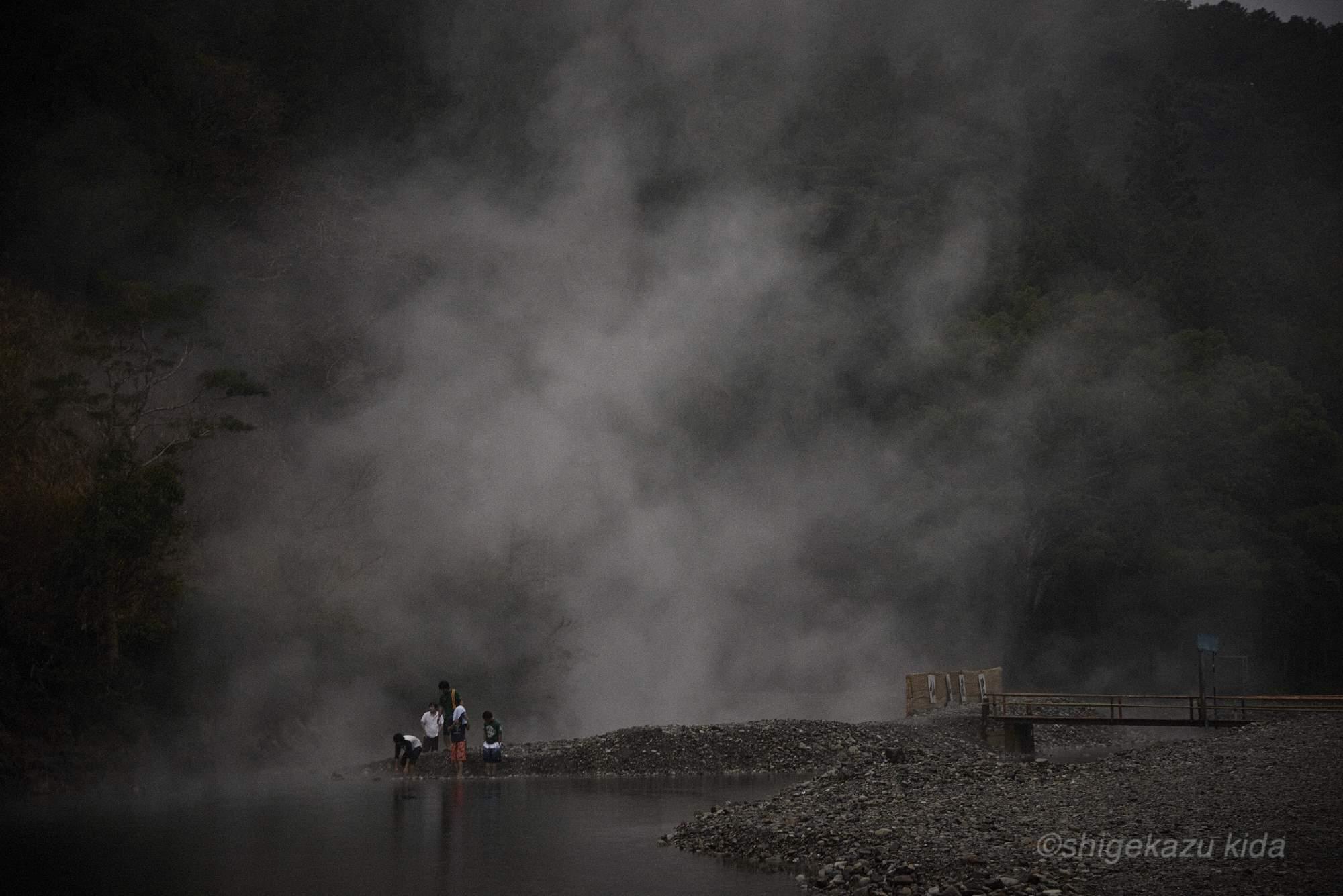 貴田茂和 shigekazu kida 熊野古道の仙人風呂