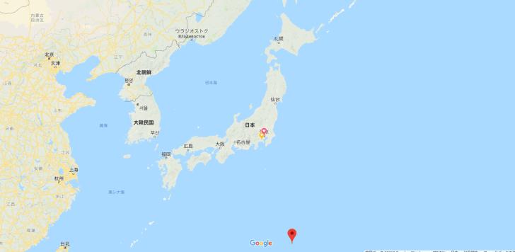 小笠原の位置