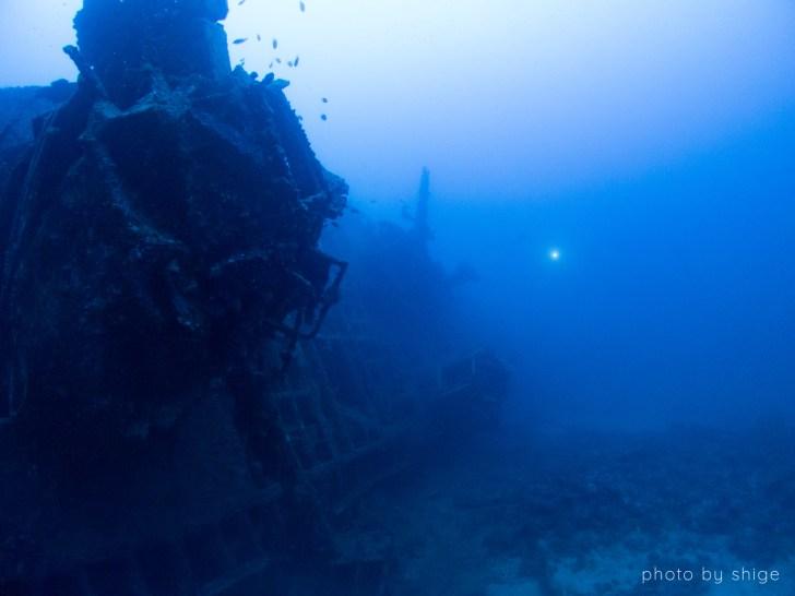 日本最大の沈船ポイント・USSエモンズ!太平洋戦争で沈んだアメリカの駆逐艦