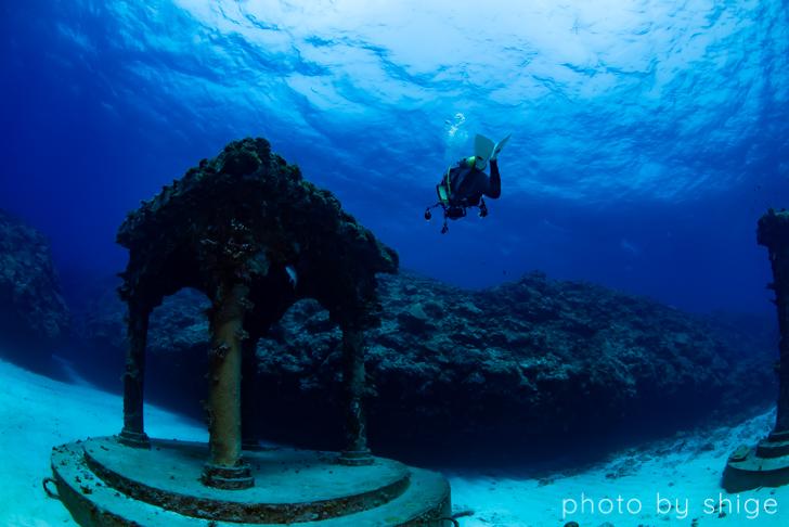 与論島の海中宮殿
