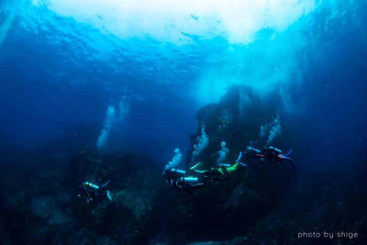 透明度の良い神子元の海