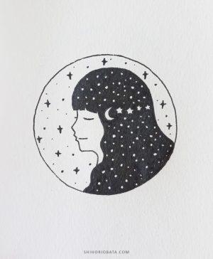 drawing easy circle drawings stars