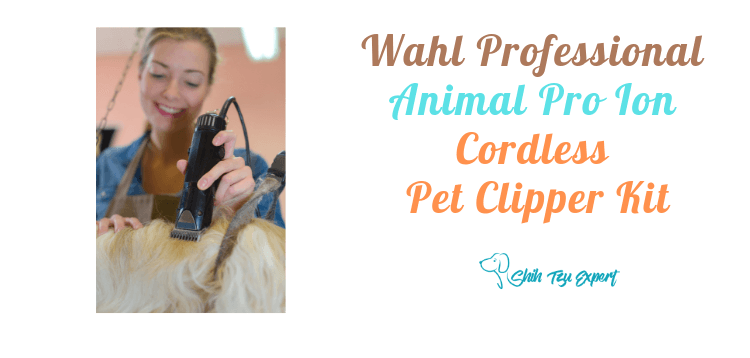 Wahl Professional Animal Pro Ion Cordless Pet Clipper Kit