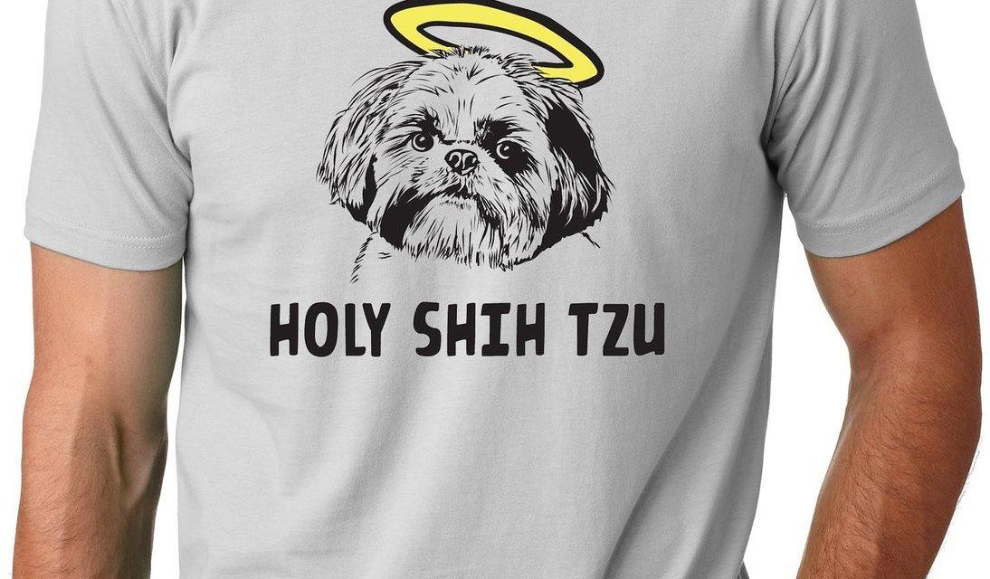 Holy Shih Tzu Comedy T-Shirt